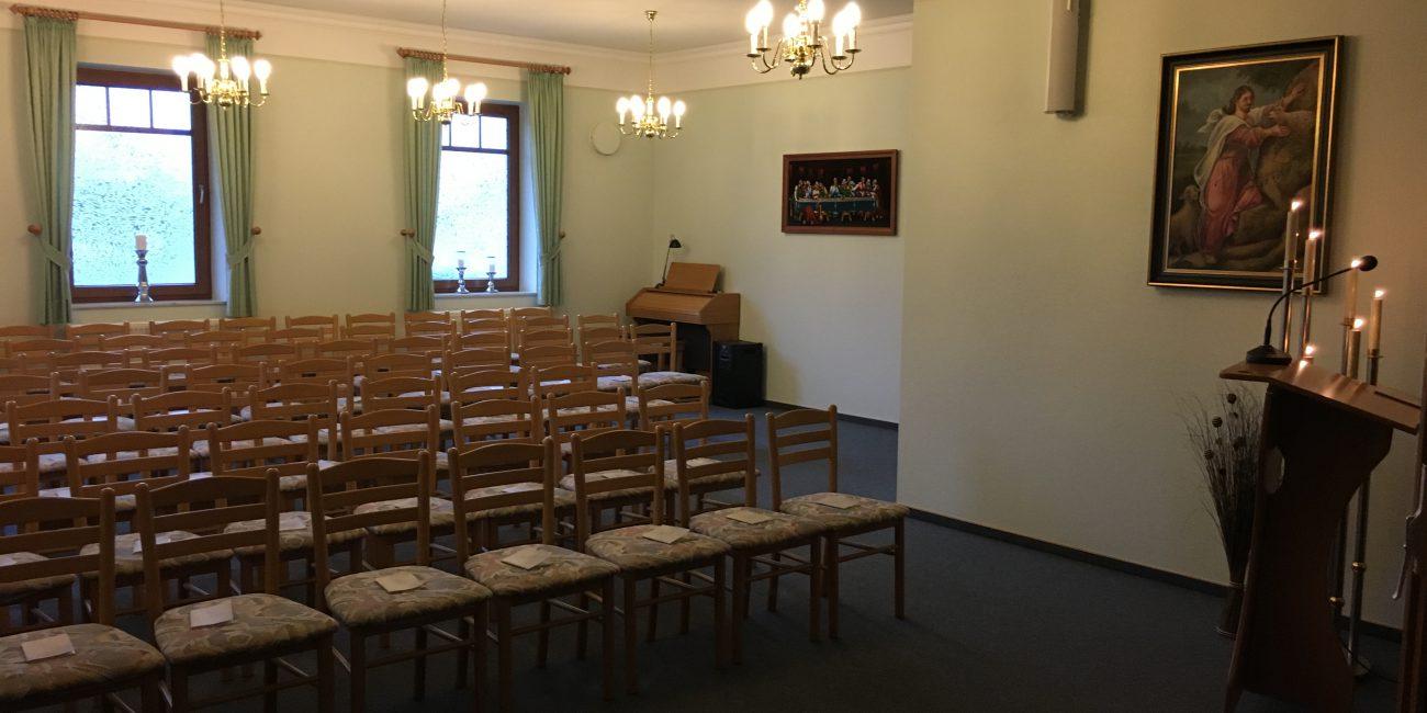 Christoph Onneken Bestattung in Westgroßefehn-Ostfriesland-Andachtsraum
